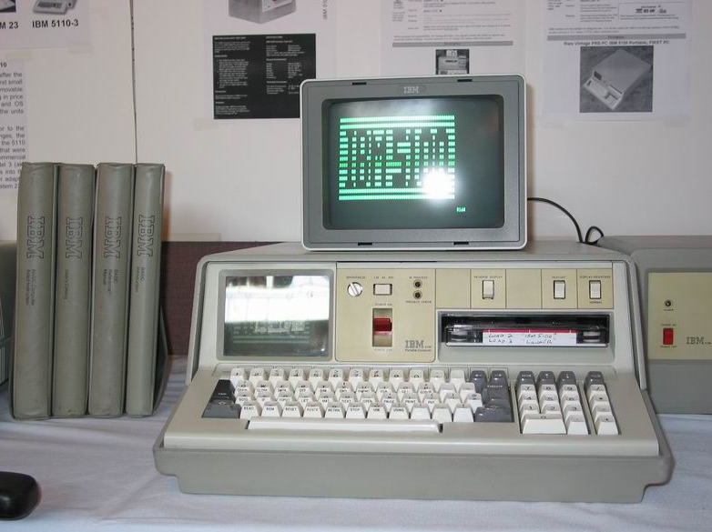 IBM Portable PC 5100 tahun 1975